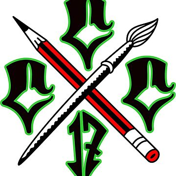 Cartel Crew Tripple Cs Black Green by cartelcrewco