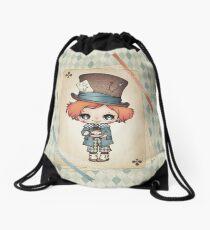 The Mad Hatter Drawstring Bag