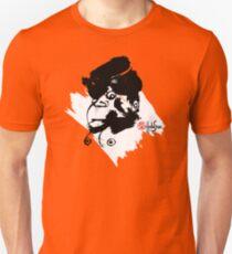 Monkey Lady BW - Crazy Faces One - Habu-San Design Unisex T-Shirt