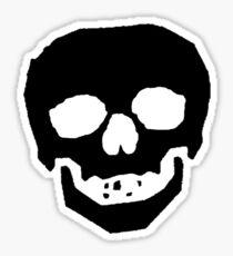 Skull Face Sticker