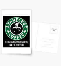 Janeway's Coffee Postcards