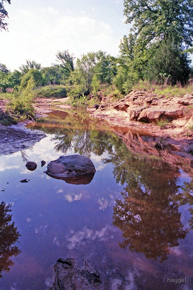Montague County Creek by haygirl