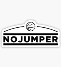 no jumper Sticker