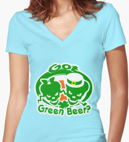 St. Patrick's day t-shirts Women's Fitted V-Neck T-Shirt