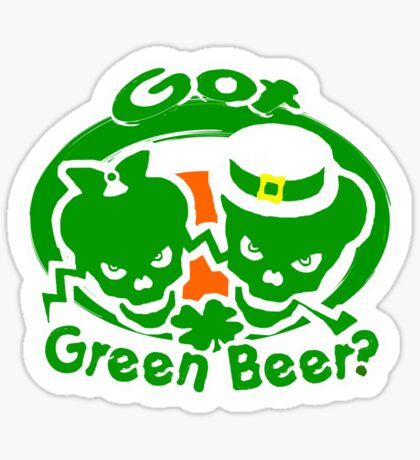 St. Patrick's day t-shirts Sticker