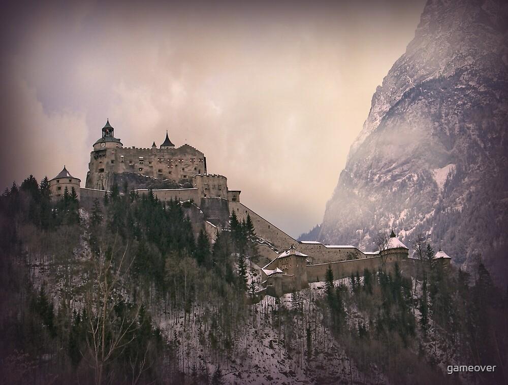 Hohenwerfen Burg, Austria by gameover