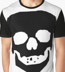 Skull Face Graphic T-Shirt
