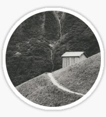 HILLSIDE HUT Sticker