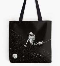 Space Cleaner Tote Bag