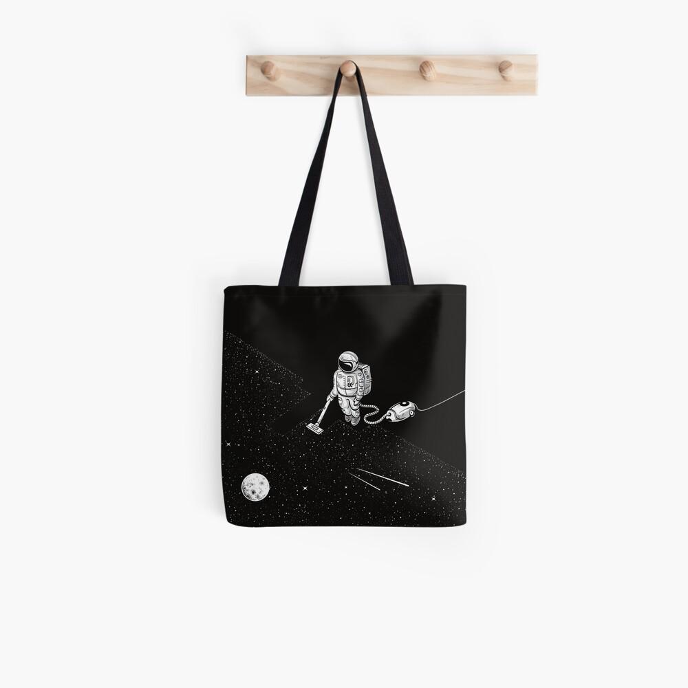 Space Cleaner Tote Bag
