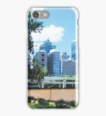 Gotham Building, Brisbane City, Australia iPhone Case/Skin