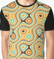 Retro psychedelic pattern Graphic T-Shirt