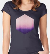 BLUR / abyss Women's Fitted Scoop T-Shirt