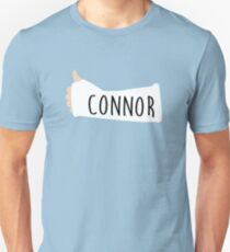 CONNOR signed Dear Evan Hansen Arm Cast Unisex T-Shirt