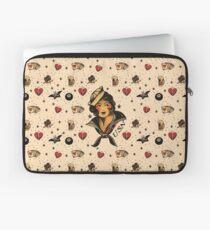 Sailor Jerry Tattoo Rockabilly Vintage Laptop Sleeve