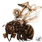 Steambee by MishMonster