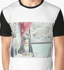 Cafe Graphic T-Shirt