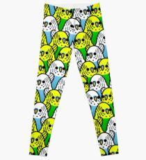 Too Many Birds! - Budgie Squad 1 Leggings