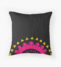 Energic Ethnicity Throw Pillow