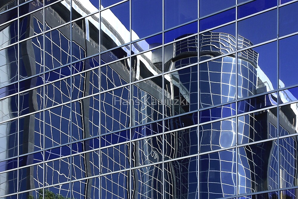 1235 Blue Reflection by Hans Kawitzki