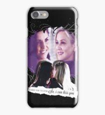 Elizona -  black phone case iPhone Case/Skin