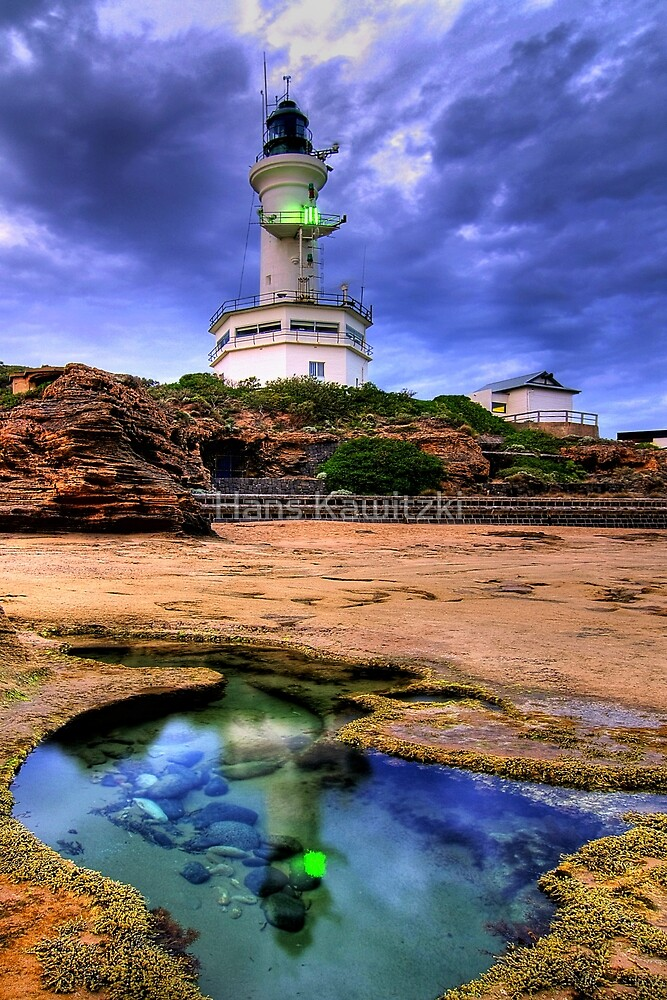 1237 Lighthouse Rockpool by Hans Kawitzki