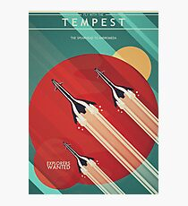 Fly With the Tempest Photographic Print