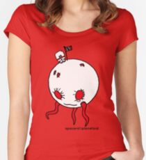 planetoid Women's Fitted Scoop T-Shirt