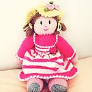Adorable hand made doll  by EdsMum
