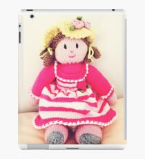Adorable hand made doll  iPad Case/Skin