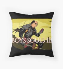 Antonio and his Souls Throw Pillow