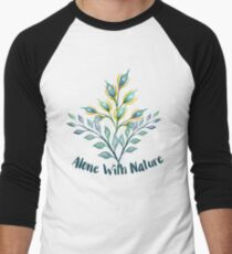 Watercolor Flowers Pattern T-Shirt