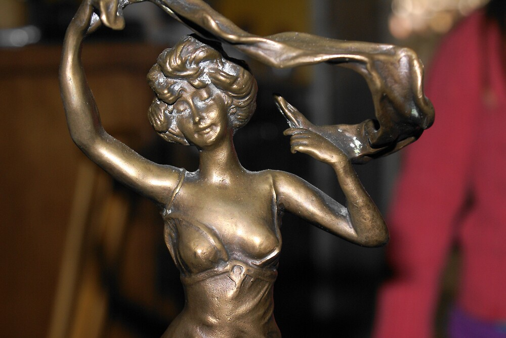 bronze lady by unstableable