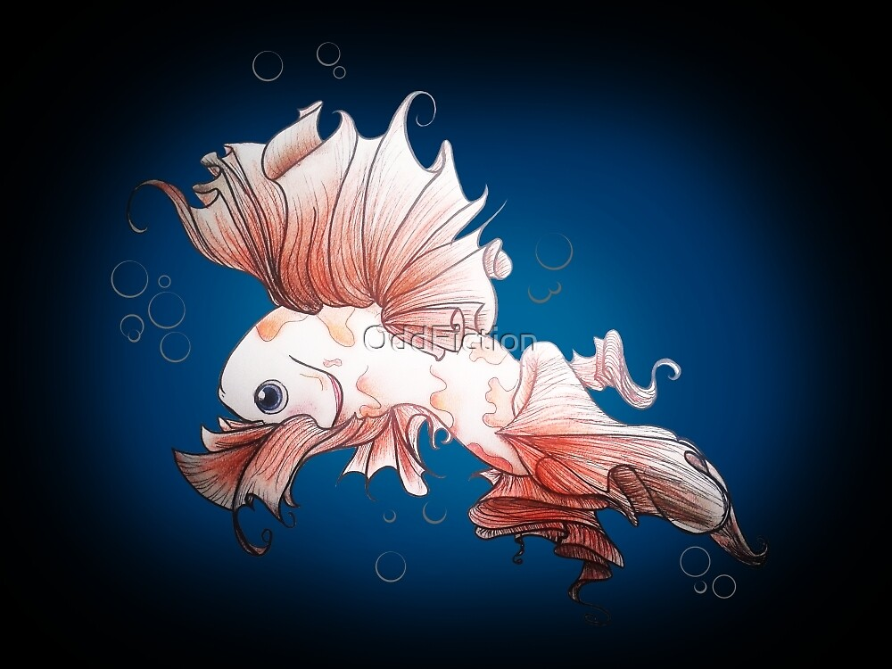 Pretty Little Koi Fish by OddFiction