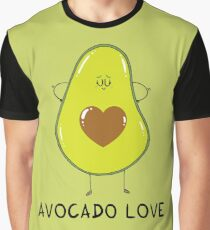 Avocado Love Graphic T-Shirt