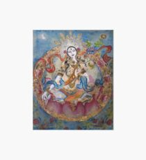 White Tara  Art Board