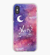 Zu den Sternen ACOMAF-Zitat iPhone-Hülle & Cover
