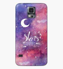 Zu den Sternen ACOMAF-Zitat Hülle & Klebefolie für Samsung Galaxy