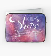 To the stars ACOMAF Quote Laptop Sleeve