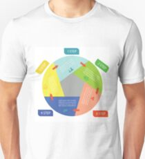 info graphic business circle T-Shirt