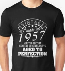 Vintage Made In 1957 Unisex T-Shirt