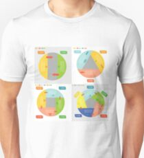 info graphic business circles T-Shirt