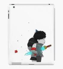 stabbing hug iPad Case/Skin
