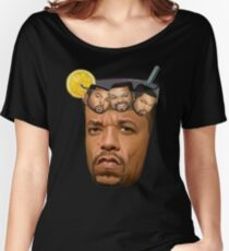 Just Some Ice Tea and Ice Cubes Tshirt design Women's Relaxed Fit T-Shirt