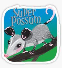 Super Possum Sticker