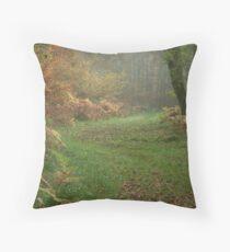Wandering Through The Woodlands Throw Pillow