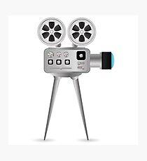 Movie projector Photographic Print