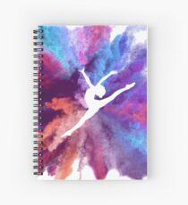 Cuaderno de espiral Gimnasta Rainbow Explosion