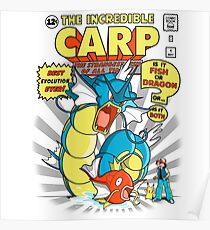 THE INCREDIBLE CARP! Poster