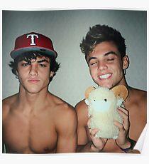 Dolan Twins Shirtless Poster